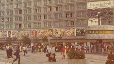 Berlin | DDR. Alexanderplatz, Ost-Berlín
