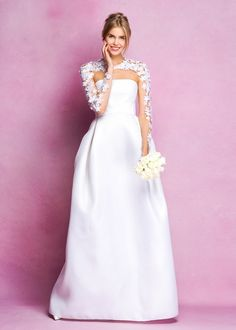 Angel Sanchez Bridal Fall 2016 Collection Photos - Vogue#1#2