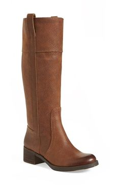 Free shipping and returns on Lucky Brand 'Heloisse' Boot (Women) at Nordstrom.com. Richly pebbled leather defines a tall, timeless boot styled with a rounded toe, subtle stitching and pull-tabs at the cuff.
