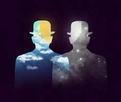 Poster | OF DAY AND NIGHT von Budi Kwan | more posters at http://moreposter.de