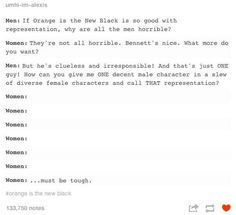 On representation: | The 19 Realest Tumblr Posts About Misogyny