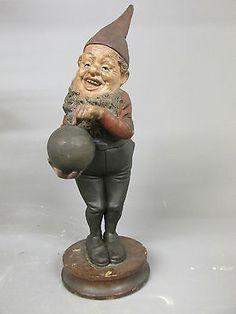 SUPERB BERNARD BLOCH BOWLING GNOME GARTEN ZWERGE NAIN DU JARDIN in Antiques, Architectural Antiques, Garden | eBay