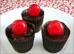 Copinhos de Chocolate Trufados ~ PANELATERAPIA - Blog de Culinária, Gastronomia e Receitas