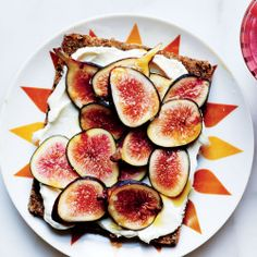 Ricotta Toast with Pears and Honey Recipe - Bon Appétit