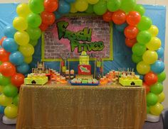 Ashley G's Birthday / The Fresh Prince of Bel-Air - The Fresh Prince Turns One at Catch My Party Prince Party Theme, Fresh Prince Theme, Prince Birthday Party, 1st Birthday Party Themes, Birthday Ideas, Princess Party, Prince Cake, The Fresh, 90s Party
