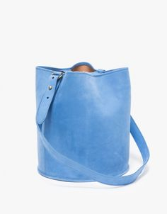 Bucket Bag in Blue