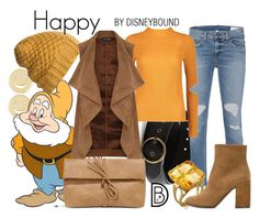 """""""Happy"""" by leslieakay ❤ liked on Polyvore featuring Alison Lou, Dakine, rag & bone, Boohoo, Dorothy Perkins, L'Autre Chose, LULUS, disney, disneybound and disneycharacter"""