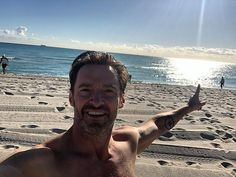 Home away from home: In July, The Greatest Showman actor revealed he was homesick for Aust... Hugh Michael Jackman, Hugh Jackman, Marvel Actors, Marvel Movies, Jack Hughman, Hugh Wolverine, Australian People, Twilight Movie, The Greatest Showman