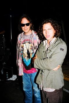 Eddie Vedder & Neil Young                                                                                                                                                                                 More