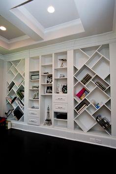Fun built-in-shelves