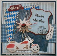 Card made by Tineke with Marianne Design November 2013 products