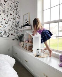 These amazing dream spaces were created by people using Semihandmade doors on Ikea cabinets. Yes, Ikea! Get inspired and learn how we can make your dream space a reality, too. Storage Bench Seating, Diy Bench Seat, Ikea Hacks, Ikea Hack Kids, Hacks Diy, Ikea Playroom, Ikea Kids Room, Playroom Seating, Ikea Kids Storage