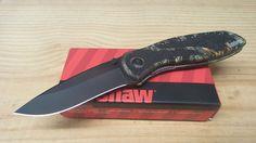 Kershaw Blur Assisted Opening Knife Camo Black Drop Point Blade Folding 1670CAMO #Kershaw