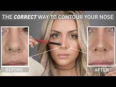 Her Nose Was A Tad Too Big So She Found The Perfect Contouring Solution That Made It Look Smaller (Watch!) - DIY Joy