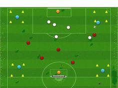 Ejercicio para trabajar la amplitud y cambios de orientacion - YouTube Football Drills, Coaching, Youtube, Soccer Stuff, Exercises, Soccer Practice, Training, Workouts, Workout Circuit