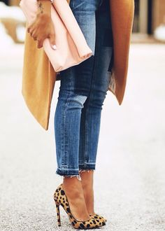 Love these Leopard Heels