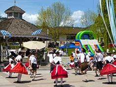 Folk dancers at MaiFest, Leavenworth Washington
