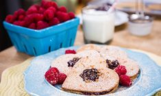Home & Family - Recipes - Homemade Linzer Cookies with Raspberry Jam
