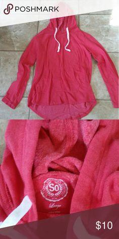 So Sz lg hoodie nwot Hoodie red Sz large So Tops Sweatshirts & Hoodies