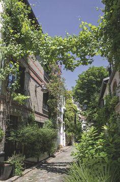 Une rue verdoyante et agréable à vivre