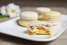 Surprises et gourmandises - Macaron mangue et jasmin