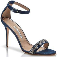Manolo Blahnik x Rihanna sandals