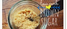 Make your own sugar free brown sugar with this *very* simple recipe- enjoy this brown sugar substitute for all of your low carb or sugar free recipes.