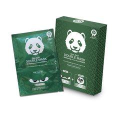 [Skin DAY] DOUBLE MASK : Animal Mask PANDA (1 Box)