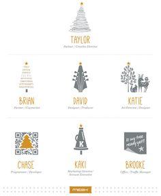 "Digital/Print Campaign: ""Carol of the Cabin"" by Katie Ramirez, via Behance"