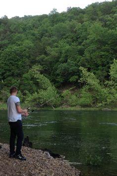White River. Arkansas