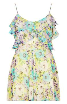 Floral print ruffle romper http://rstyle.me/n/jviqrnyg6