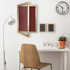 Camira Cara Noticeboard With Lockable Wood Frame