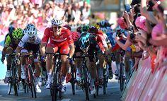 Giro DItália: Kittel vence a 2ª seguida e fatura a maglia rosa