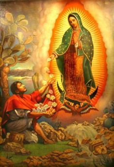 1531 – The Virgin of Guadalupe first appears to Juan Diego at Tepeyac, Mexico City.   Our Lady of Guadalupe, Patroness of the new Evangelization