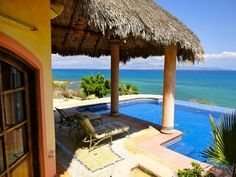 La Ventana Vacation Rental - VRBO 362991 - 1 BR Baja California Sur House in Mexico, Beachfront with Infiniti Pool, Jacuzzi & King Bed