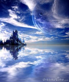 planetary landscape | Landscape In Fantasy Planet Stock Photos - Image: 24018053
