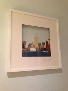 How to turn your Lego into quirky art: Lego Landmarks in RIBBA - IKEA Hackers Inspiration Ikea, Noah, Ribba Frame, Quirky Art, Box Frames, Ikea Frames, Lego Design, Ikea Hackers, Lego Architecture