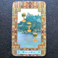 Daily Dragon Tarot: Three of Cups