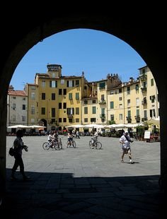 Lucca, beautiful place in Toscane, Italy. My son is named after this place