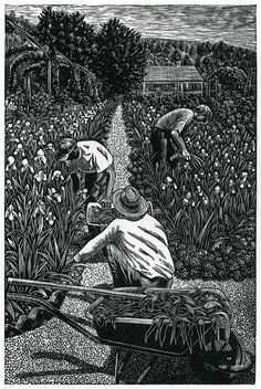 """Wood engraving by Andy English. The """"What Is Wood Engraving?"""" section on his website provides informative text and photos."""