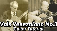 Vals venezolano by the famous Venezuelan guitarist/composer Antonio Lauro. This is probably his most famous piece and it belongs to a group of pieces entitled 'Quattro Vals Venezolanos Venezuelan Waltzes). Guitar Notes, Guitar Tabs, Cool Guitar, Classical Guitar Lessons, Online Guitar Lessons, Guitar Tutorial, Learn To Play Guitar, Playing Guitar, Teaching