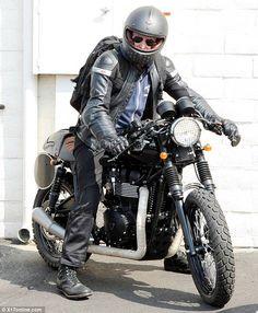 Bradley Cooper (via Triumph Motorcycles)