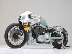 "45 Me gusta, 1 comentarios - Cafe Racer Pasión (@caferacerpasion) en Instagram: "" caferacerpasion.com  Harley-Davidson Custom #CafeRacer ''Karpatenhund'' by Blech & Druber [TAGS]…"" #harleydavidsonbobberscaferacers"