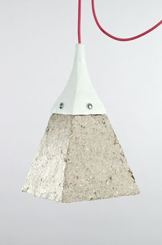 Dear Human Designs Cool Lamps From Recycled Paper - Upcyclista