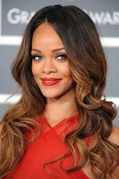 ♡ On Pinterest @ kitkatlovekesha ♡ ♡ Pin: Celebrities ~ Rihanna at 2013 Grammy Awards ♡