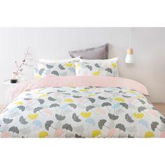 Reversible Ginko Quilt Cover Set - Queen Bed | Kmart