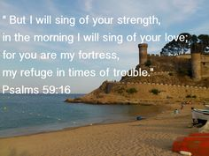 God is my fortress