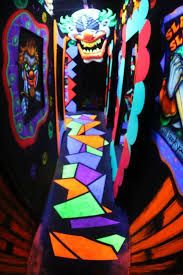 Image result for creepy funhouse sign