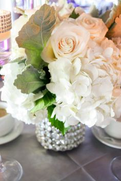 Alternate from tall to short Centerpieces