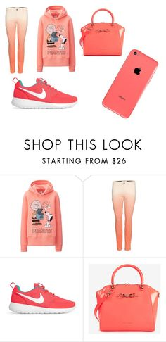 """Untitled #2"" by kankulyaorsi3 ❤ liked on Polyvore featuring beauty, Uniqlo, STELLA McCARTNEY, NIKE and Ted Baker"